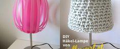 Häkeln: Luftmaschen • yellowgirl der DIY-Lifestyle Blog Diy Choker, Blog, Home Decor, Autos, Glass Bottles, Simple Diy, Deco, Fountain, Script Logo