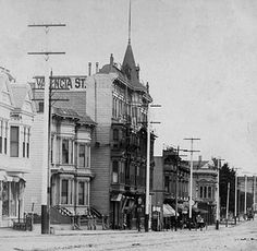 Valencia Street Hotel, 1898   Now - The Abbot's Cellar