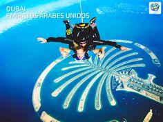 ☁ Saltar en paracaídas en #Dubai