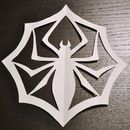 I love The Nightmare Before Christmas and I love the spider snowflake Jack Skellington made accidentally. So I made it purposefully. It is very easy. Supplies: Printer to print document Regular Printer ...