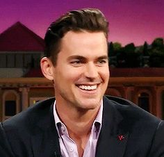 """highonawindyhill: """" """"Matt Bomer smizing on The Late Late Show with James Corden """" """""""