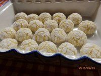 Kokosovo-citronové CRINKLES-popraskané,vrásčité sušenky Christmas Baking, Christmas Cookies, Czech Recipes, Healthy Deserts, Sweet And Salty, Cupcake Cookies, Crinkles, Biscuits, Food And Drink