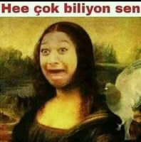He cok biliyon sen Wtf Funny, Funny Cute, Funny Memes, Funny Share, Dark Fantasy Art, Mood Pics, My Mood, Yandere, Really Funny