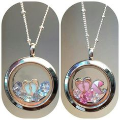 New Mom Origami Owl living locket. Cute Idea for a #babyshower gift for the #MomToBe ! Build it at cabaray.origamiowl.com