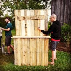 5 Reasons You Should Build a Custom Bar for Your Wedding