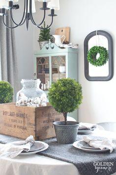 Cozy Winter Farmhouse Style - The Golden Sycamore