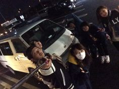 Our one-box car went to snow mountain with nice guys. www.japanrev.co.jp スタッドレス付レンタカーで雪山へ