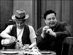 "The Honeymooners Ralph and Ed get Drunk--Carney and Gleason are as good as it gets. ""And Away We Go..."""