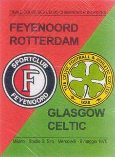 European Cup Final programme (1970) Football Ticket, Football Memorabilia, Football Program, Football Match, Football Posters, Uefa Super Cup, Celtic Fc, European Cup, Rotterdam
