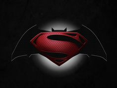 Batman vs Superman Logo Desktop Wallpaper