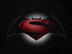 Batman vs Superman Logo Desktop Wallpaper