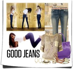 """""""GOOD JEANS"""" by sherry7411 ❤ liked on Polyvore"""