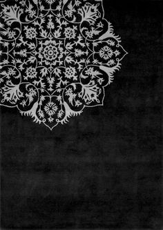 via inks+thread | inspiring floor pattern