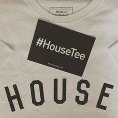 My @millionhands #HouseTee arrived today with all profits from sales going straight to @habitatforhumanity - a charity who currently have a 'disaster relief team' working in Nepal ! #HouseTee #millionhands #habitatforhumanity #nepalappeal #Mymh #fashion #house #housemusic #charity