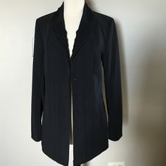 T TAHARI  very dressy Jacket Size 4 NWOT Black ,dressy ,very beautiful piece Size 4 fits right to size Tahari Jackets & Coats