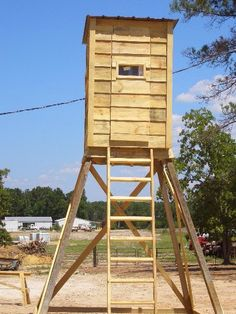 Pallet Projects - Pallet Deer Stand