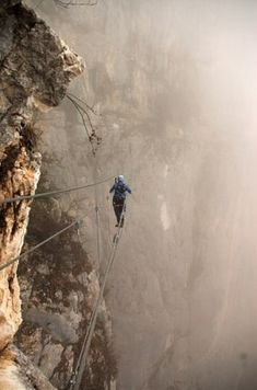 Via Ferrata, Italy and Austria | 19 Hikes That Are Basically Too Terrifying To Ever Attempt