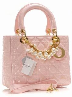Pink Dior www.hook-her.net Purse Hangers for your prized possession. Stay 'lady like'with pink! oo la la