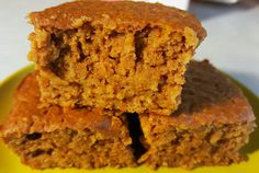 Pumpkin Protein Squares | Adventures in Mommahood