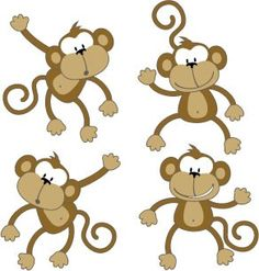 Monkey decals