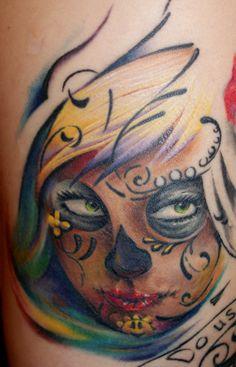 sugar skull #tattoo