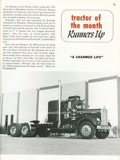 Kenworth Trucks, Peterbilt, Semi Trucks, Old Trucks, Heavy Duty Trucks, Trailers, Old Ads, Classic Trucks, Online Business