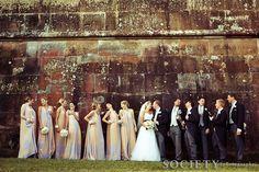 More large bridal parties. Bridal Shower Menu, Bridal Shower Photos, Bridal Pictures, Bridal Shower Rustic, Party Pictures, Party Photos, Summer Bridesmaid Dresses, Pink Wedding Dresses, Wedding Venues Sydney