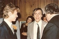 twiggalina: Bowie and Iggy were guests at Tony Mascia's wedding (Bowie's bodyguard)