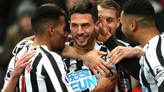 Fabian Schar scored twice as Newcastle beat Cardiff Cardiff City, Newcastle, Scores, Hero, Football, Couple Photos, Soccer, Couple Shots, Heroes