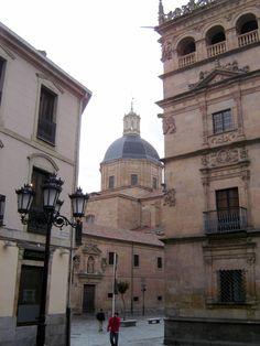La Purísima y Palacio de Monterrey, Salamanca.