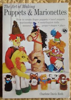Pack-o-fun Animals Dolls Hearty How To Make Sock Toys Puppets And More Vtg Booklet Easy To Lubricate