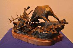 The Battle sculpture