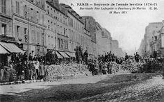 Le 18 mars 1871, l'insurrection populaire parisienne chasse le gouvernement qui se réfugie à Versailles. Le 28 mai, avec la chute de la dernière barricade, s'achève la Semaine sanglante. La Commune de Paris n'a duré que 72 jours.
