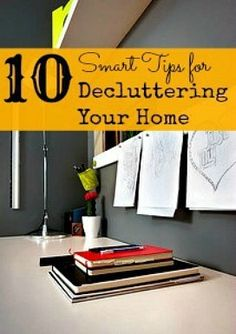 Start the new year off right with tips for decluttering your home from Color Me Frugal