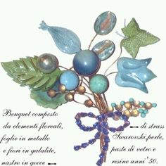 Spilla pin Fake Flowers, Jewels, Rings, Vintage, Atelier, Artificial Flowers, Jewelry, Ring, Gemstones