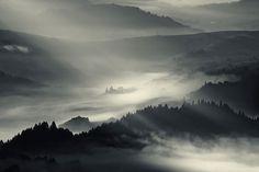Early Morning Fog Sweeps Across Majestic Landscapes - My Modern Metropolis