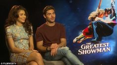 Kissing characters: Zendaya and Zac discussed the kissing scene between their characters...