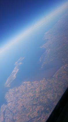 Taken from plane onway to Benidorm