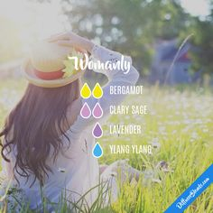 Womanly - Essential Oil Diffuser Blend