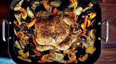 For celebrating holidays or special occasions, author Joan Nathan shares two kosher recipes from her latest cookbook, King Solomon's Table. To serve with the double lemon roasted chicken and hummus with preserved lemon and cumin, Wine Spectator selects 10 kosher red and white wines suited to the High Holy Days or other Jewish festivities.