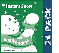 SnoWonder Instant Artificial Snow  Bonus Projects eBook  Home Decor  Party Packs  Classroom Science Projects 24 * Be sure to check out this awesome product.