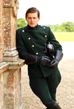 Allen Leech as Tom Branson in Downton Abbey (Yay, he's been officially billed as a main character for series 3!)