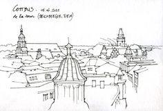 Urban Sketchers: Gérard Michel