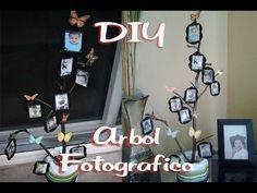 Marcos para foto hechos con PET: Arbol Fotográfico