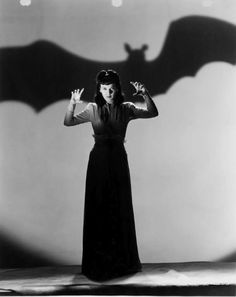 """The Son's Victim           It's Louise Allbritton after she has meet Lon Chaney, Jr. in """"Son of Dracula""""."""