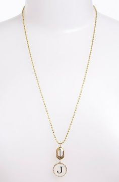 Lenora Dame Initial Pendant Necklace | $42.00 | Nordstrom