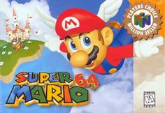 Old school video games: MARIO 64. Repin if you remember!