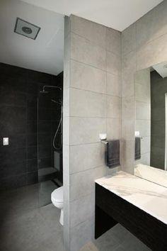 Modern Grey Bathroom Ensuite   Gasparre Tiles