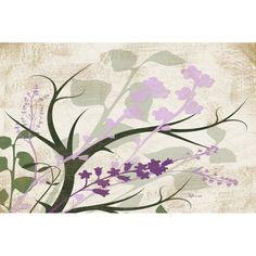 Manual Woodworkers & Weavers Lavender and Sage Flourish Cream Area Rug Rug size: Purple Area Rugs, Beige Area Rugs, Area Rug Placement, Faux Fur Rug, Farmhouse Rugs, Small Room Decor, Condo Decorating, Natural Area Rugs, Cream Area Rug
