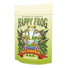 FoxFarm Happy Frog All Purpose 5 - 5 - 5 (4 lb Bag)